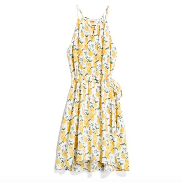 d8b7c50a3fe Pixley tammi lemon print dress. M 5c5ca321bb7615f61d3b36b6